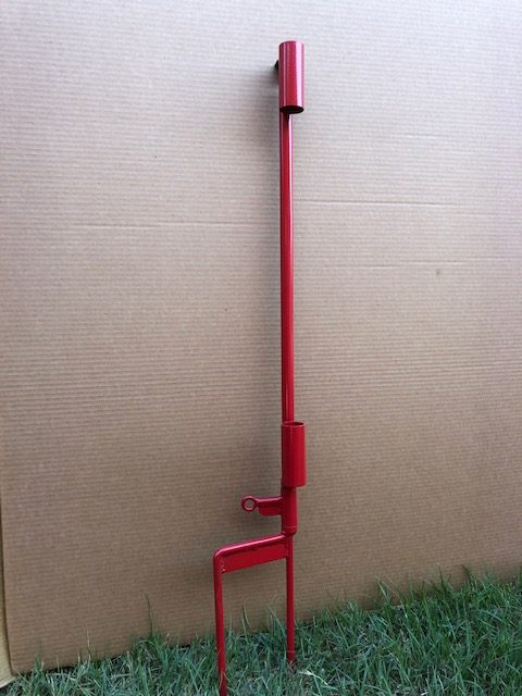 Umbrella Stand W/Dog Tie Out